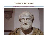 le opere di aristotele - Isisghilarza.It