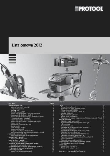 Cennik Protool 2012.pdf - Bosch Centrum Agares