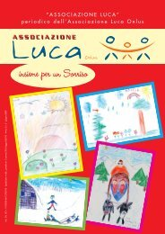 Giornalino n°5 - Associazione Luca ONLUS