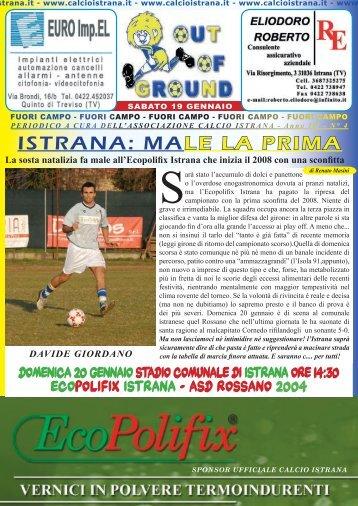 GIORNALINO 4.indd - istrana Calcio