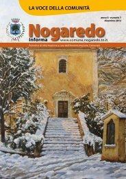informa LA VOCE DELLA COMUNITÀ - Comune di Nogaredo