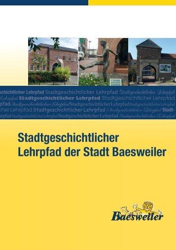 Stadtgeschichtlicher Lehrpfad der Stadt Baesweiler
