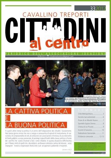 LA CATTIVA POLITICA E LA BuONA POLITICA - CTnews.it