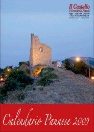 Calendario 2009 Completo - Il Castello il giornale dei pannesi