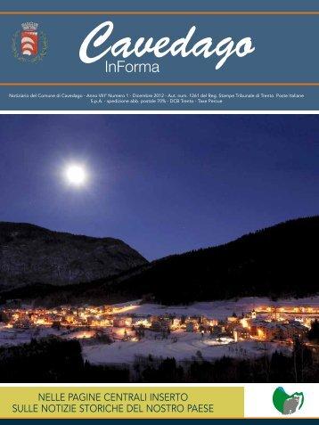 Dicembre 2012.pdf - Comune di Cavedago