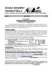 ROSSO MANIERO - Associazione Nazionale E
