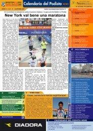calendario del podista news - Runners.it