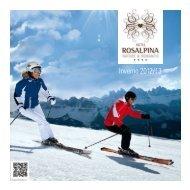 Listino prezzi inverno 2012/2013 - Rosalpina
