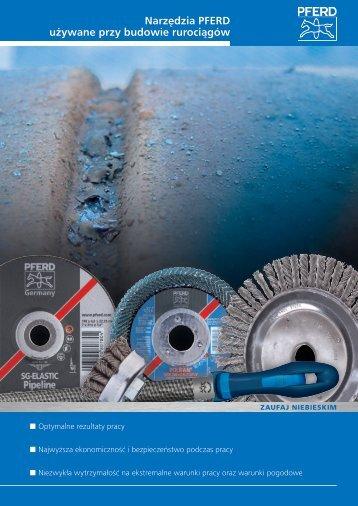 Narzędzia PFERD do budowy rurociągów - Promotor