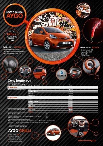 AYGO CHILLI - Toyota