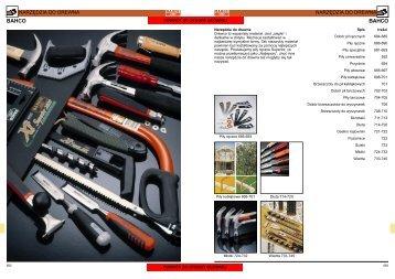 Pobierz katalog Pdf Narzędzia do drewna - Narzędzia Bahco