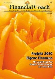 Projekt 2010 Eigene Finanzen - UFS GmbH