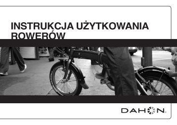 Instrukcja użytkowanIa rowerów