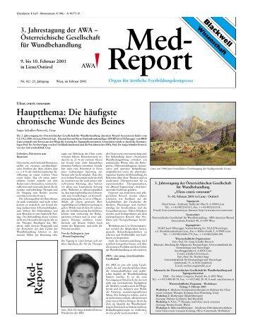 Med- Report - AWA - Austrian Wound Association