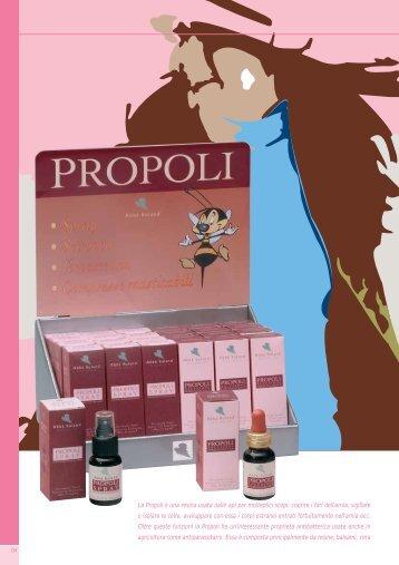 La Propoli è una resina usata dalle api per molteplici scopi: coprire i ...