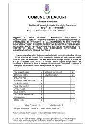 PO FESR 2007/2013 - bando pubblico promozione valorizzazione
