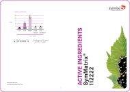 Produc tinformation: SymMatrix® No. 112222 - COSSMA