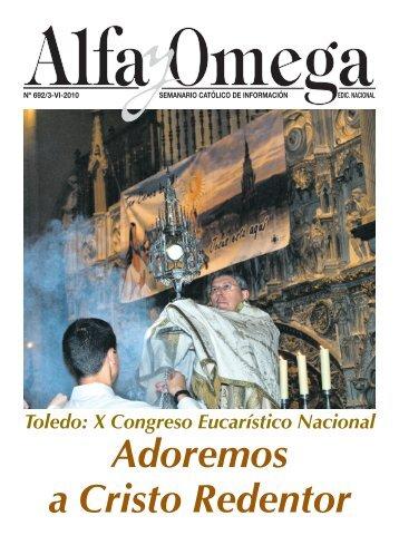 Toledo: X Congreso Eucarístico Nacional - Alfa y Omega