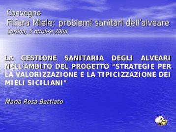 FILIERA MIELE - Portale dell'innovazione - Regione Siciliana