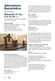 Adorazione Eucaristica - Arcidiocesi di Torino