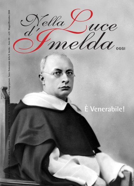 Nella Luce d'Imelda oggi - Anno XII - n° 29 - Suore Domenicane ...