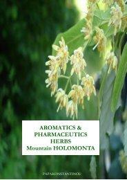 AROMATICS & PHARMACEUTICS HERBS Mountain HOLOMONTA