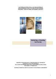 Marketing e Branding territoriale - Lettere e filosofia - Università ...