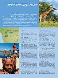 Namibia Botswana Sambia - TravelCMS