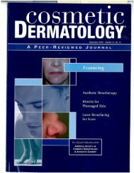 Nonablative Fractional Laser Resurfacing for Atrophic and ... - Mai-Mar