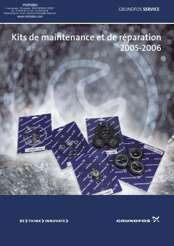 Kits de maintenance et de rÂparation - Motralec