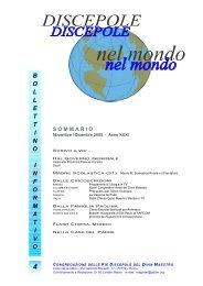 bollettinoinformativo - Pie Discepole del Divin Maestro