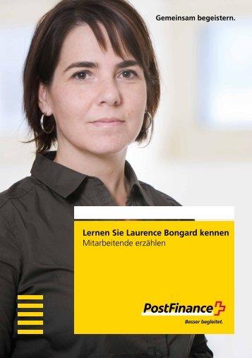 Lernen Sie Laurence Bongard kennen - Mitarbeitende erz