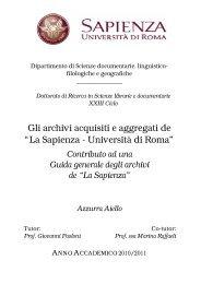 La Sapienza - Università di Roma - Padis
