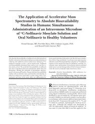 The Application of Accelerator Mass Spectrometry to Absolute ...