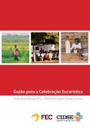 Guião para a Celebração Eucarística - Rede Fé e Desenvolvimento