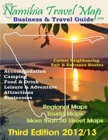 to download the guide in PDF - Namibia Travel Map