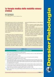 La terapia medica della malattia venosa cronica - Simg