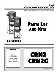 cr series crn2 crn2g partsl ist andk its - Grundfos