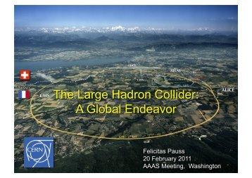 AAA_S Mäeting, Washington - CERN