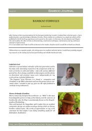 Download articles of the Bamboo Journal - Alberto Poratelli