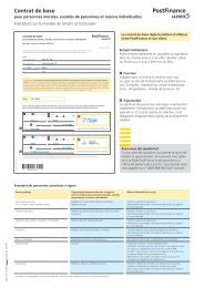Kombi-Wegleitung Neukunden GK 460.64 - PostFinance