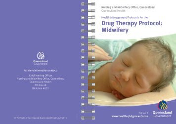 Drug Therapy Protocol: Midwifery - site powered by Chilli Websites