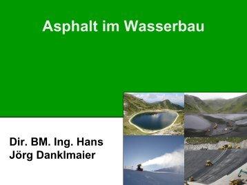 Asphalt im Wasserbau - Gestrata