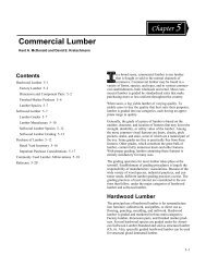 Wood Handbook--Chapter 5--Commercial Lumber - Evenfall Studios