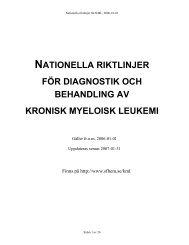 nationella riktlinjer för diagnostik och behandling av kronisk ...