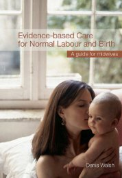 Evidence-based Care for Normal Labour and Birth: A Guide for ...
