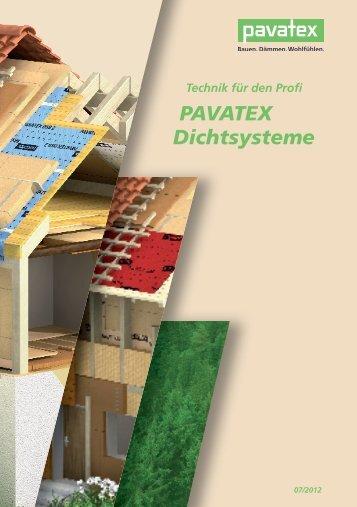 PAVATEX Dichtsysteme