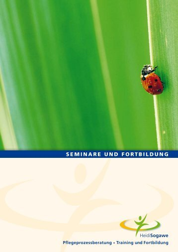 SEMINARE UND FORTBILDUNG - Pflegeprozessberatung Training ...