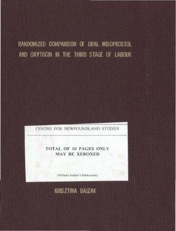 Download (6Mb) - Memorial University Research Repository ...