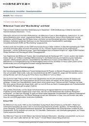 Bericht Der Standard Online 17.01.2012 - Harry's Home Hotels